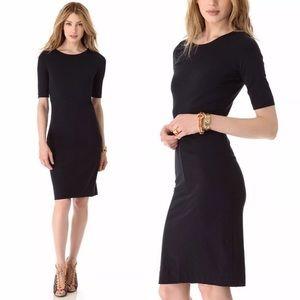 diane von furstenberg dress meeson black size M